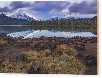 Wood Print featuring the photograph Sparks Lake by Cat Connor