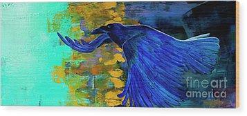Speak To Me Of Magic Wood Print by Tracy L Teeter