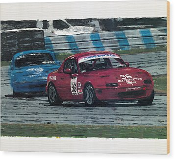 Spec Miata 1 Wood Print by James Haas