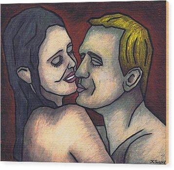 Special To Me Wood Print by Kamil Swiatek