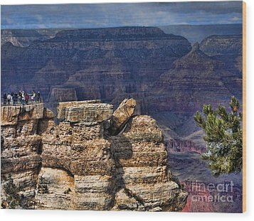 Wood Print featuring the photograph Spectacular Grand Canyon by Roberta Byram