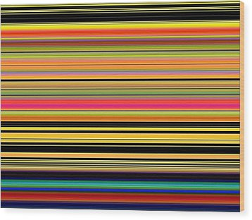 Spectra 10130 Wood Print by Chuck Landskroner