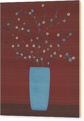 Spectrum Of Foliage Wood Print by Sandy Bostelman