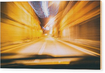 Speed Wood Print