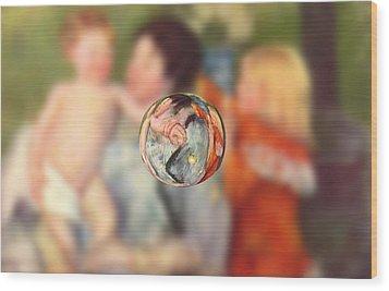 Sphere II Cassatt Wood Print by David Bridburg