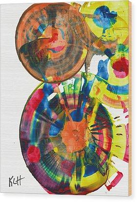 Sphere Series 967.030812 Wood Print