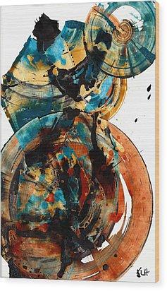 Spherical Joy Series 208.012011 Wood Print