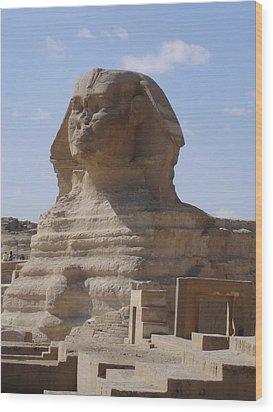 Sphinx Wood Print