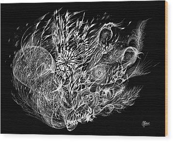 Spindrift Wood Print