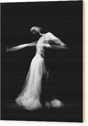 Spinning Dance Wood Print