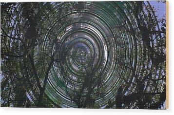 Spinning Wood Print