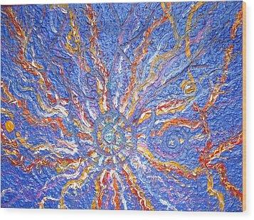 Spirale Money Magnet Wood Print by Joanna Pilatowicz