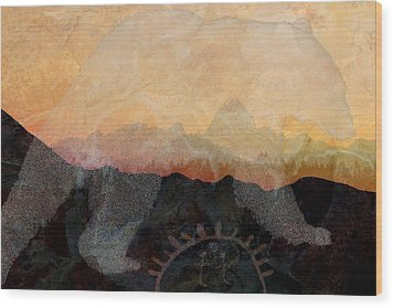 Spirit Bear # 6 Wood Print