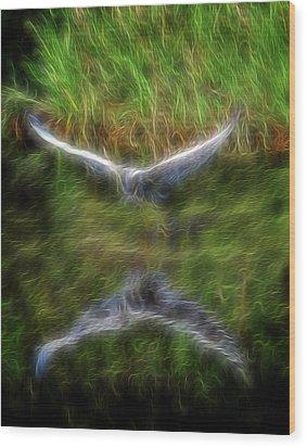 Spirit Garden 7 Wood Print by William Horden
