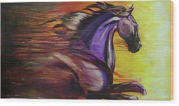 Spirit Wood Print by Jerry Frech