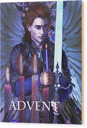 Spirit Of Advent Wood Print