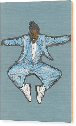 Spirit Of Cab Calloway Wood Print