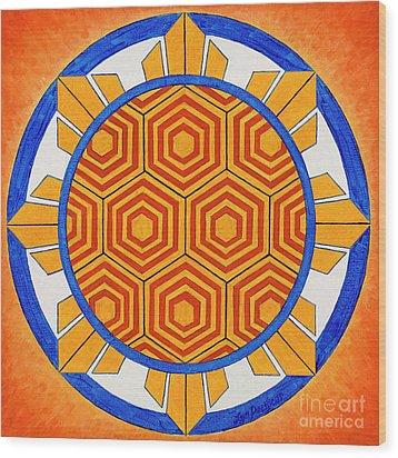 Spirit Of Kapwa/espiritu De La Solidaridad Wood Print