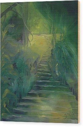Spirit Of The Amazon Wood Print by Zoe Landria