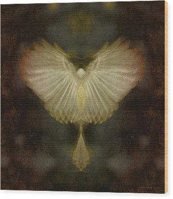 Spirit Rising Wood Print by WB Johnston