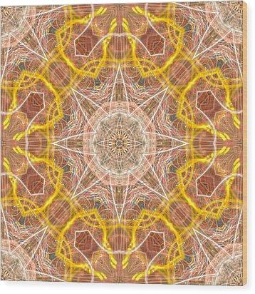 Spirit Wood Print by Thomas  MacPherson Jr