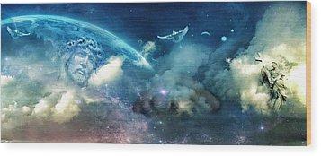 Spiritual  Awakening Wood Print by John Rivera