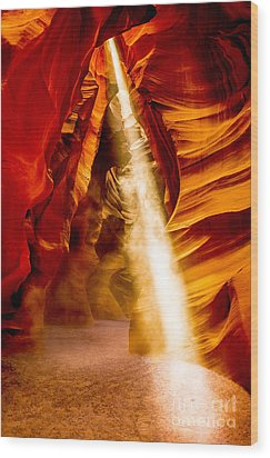 Spirit Light Wood Print