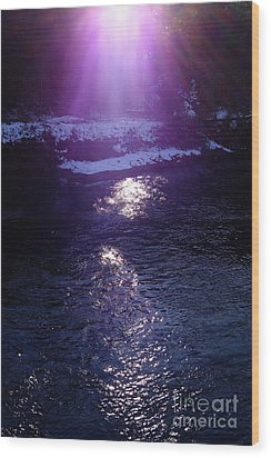 Wood Print featuring the photograph Spiritual Light by Tatsuya Atarashi