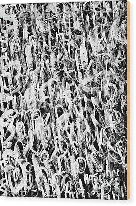 Spiritual Wood Print by Roseanne Jones