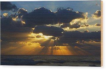 Spiritually Uplifting Sunrise Wood Print
