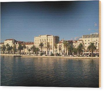Split- Croatia Wood Print
