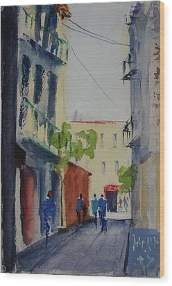 Spofford Street3 Wood Print by Tom Simmons