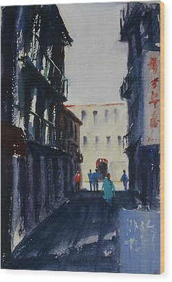 Spofford Street4 Wood Print by Tom Simmons