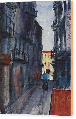 spofford Street5 Wood Print by Tom Simmons