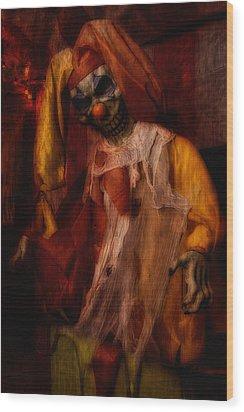Spoils, The Clown Wood Print
