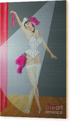 Spotlight On Gypsy -- #5 In Famous Flirts Series Wood Print
