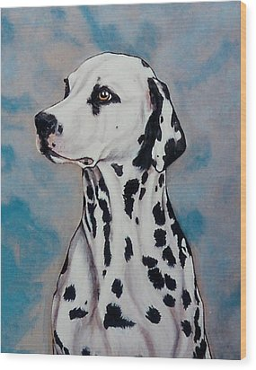 Spotty Wood Print by Lilly King