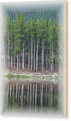 Sprague Lake 03 Wood Print