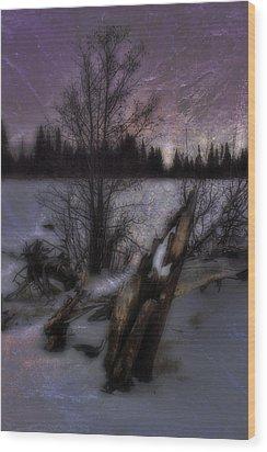 Wood Print featuring the photograph Sprague Lake Winter Dream by Ellen Heaverlo