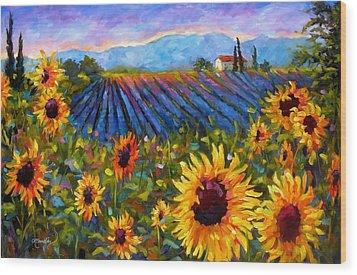 Spread A Little Sunshine Wood Print by Chris Brandley