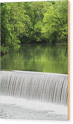 Wood Print featuring the photograph Spring At Buck Creek by Parker Cunningham