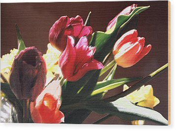 Wood Print featuring the photograph Spring Bouquet by Steve Karol