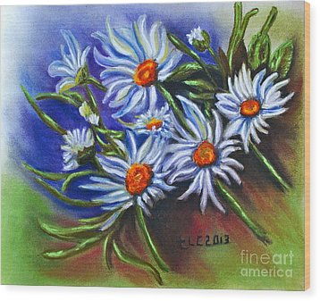 Spring Dasiy  Wood Print