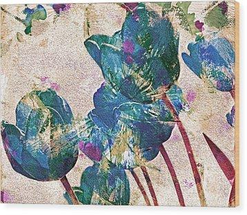 Spring Energies 10 Wood Print