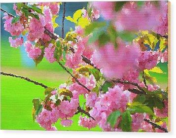 Spring Glory Wood Print
