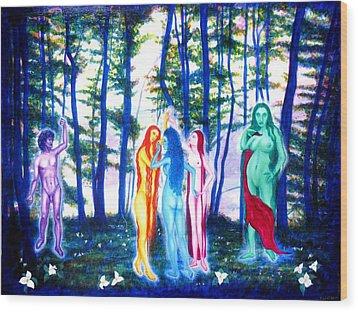 Spring Grove Wood Print by Tom Hefko