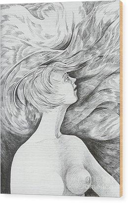 Spring I Wood Print by Anna  Duyunova