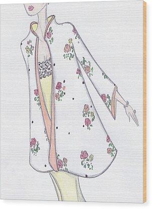 Spring In Bloom Wood Print by Christine Corretti