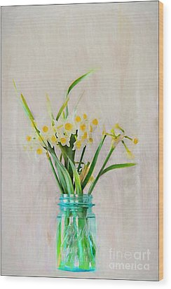 Wood Print featuring the photograph Spring In The Country by Benanne Stiens