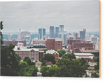 Wood Print featuring the photograph Spring In The Magic City - Birmingham by Shelby Young